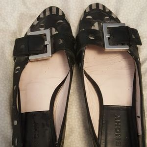 Givenchy Buckle Monogram Flats 36 1/2 RARE SIZE